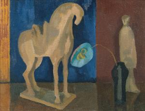 Still Life with T'ang Horse, Roger Fry