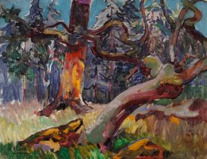 Sunlight in the Forest, Emily Carr