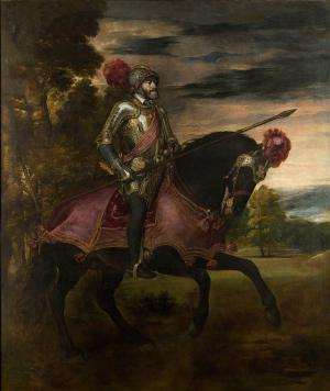 Equestrian Portrait of Charles V, Titian