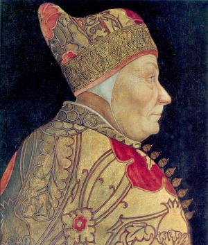 Portrait of Francesco Foscari, Lazzaro Bastiani