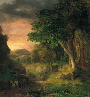 In the Berkshires, George Inness