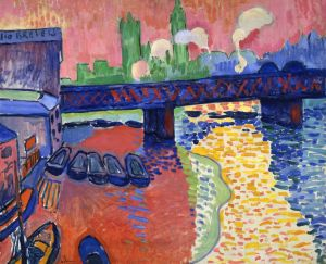 Charing Cross Bridge, London, André Derain