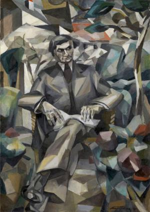 Portrait of Jacques Nayral, Albert Gleizes