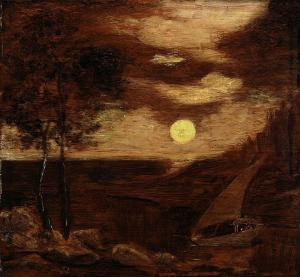 The Lovers' Boat, Albert Pinkham Ryder