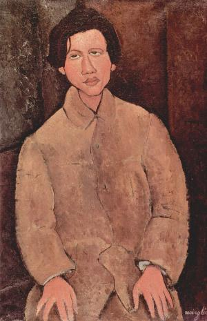 Portrait of Soutine, Amedeo Modigliani