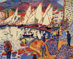 The Drying Sails, André Derain