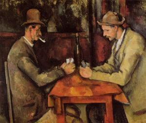 The Card Players, Paul Cézanne