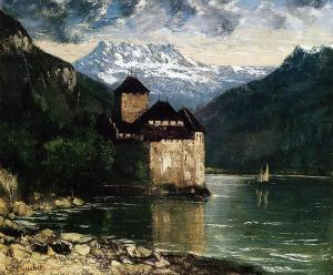 Chillon Castle, Gustave Courbet