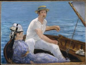 Boating, Manet