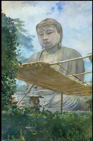 The Great Statue of Amida Buddha, La Farfe