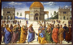 Delivery of the Keys, Pietro Perugino