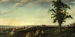 View of Baltimore from Chapel Hill, Francis Guy