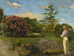 The Little Gardener, Frédéric Bazille