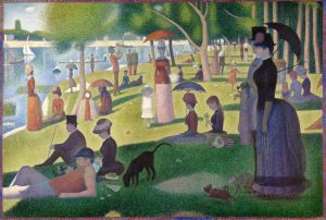 A Sunday Afternoon on the Island of La Grande Jatte, Seurat