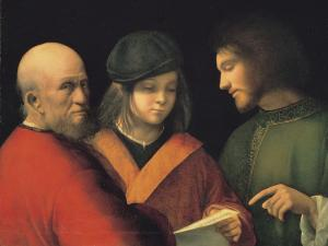 The Three Ages of Man, Giorgione