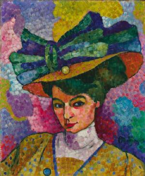 Woman with a Hat, Jean Metzinger