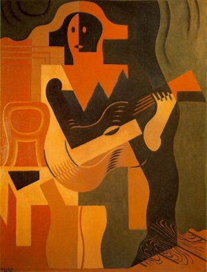 Harlequin with Guitar, Juan Gris