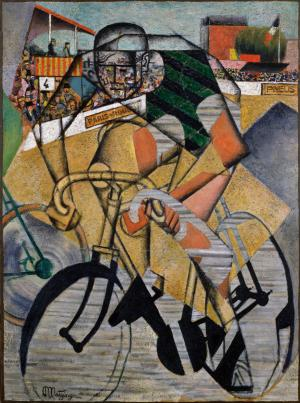 At the Cycle-Race Track, Jean Metzinger