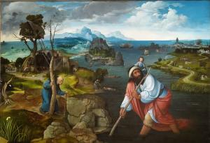 Landscape with St. Christopher, Joachim Patinir