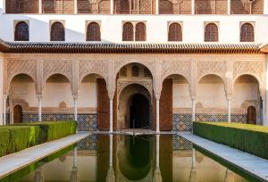 Courtyard of the myrtles, Alhambra