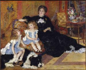 Madame Charpentier and her children, Pierre-Auguste Renoir