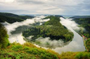 Saar river, Germany