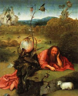 St. John the Baptist in the Wilderness, Hieronymus Bosch