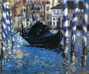 The grand canal of Venice, Édouard Manet