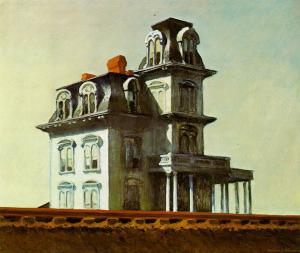 The House by the Railroad, Edward Hopper