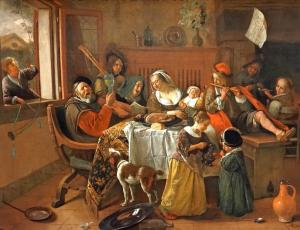 The Merry Family, Jan Steen