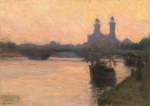 The Seine, Henry Ossawa Tanner