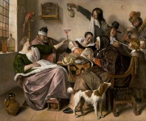 The way you hear it, is the way you sing it, Jan Steen