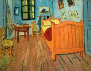 Bedroom in Arles, Van Gogh
