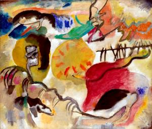 Improvisation 27 (Garden of Love II), Kandinsky