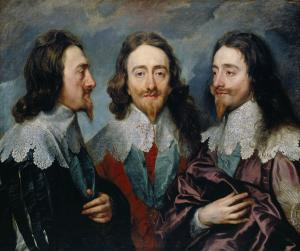 Triple portrait of Charles I, Anthony van Dyck