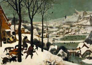 Hunters in the Snow, Pieter Bruegel the Elder