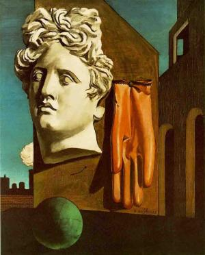 The Song of Love, Giorgio de Chirico