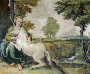Virgin and Unicorn, Domenichino