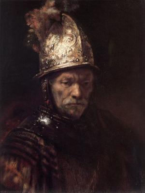 The Man with the Golden Helmet, Rembrandt